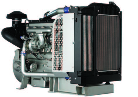 1104D-44TA Diesel Engine - Industrial Open Power Unit