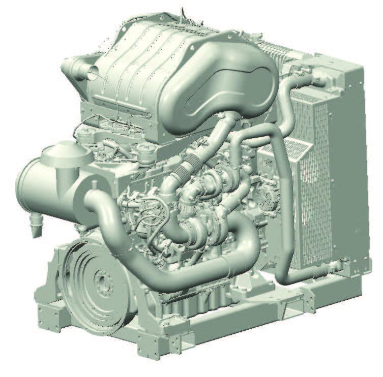 1206F-E70TTA Industrial Open Power Unit