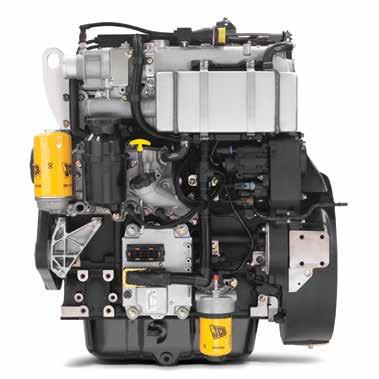 EU Stage IIIB / EPA Tier 4 Interim 55kW (74hp)