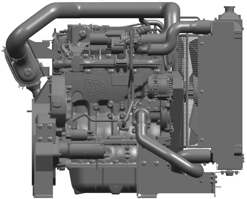 JCB ECOMAX STAGE IIIB / TIER 4 FINAL 55KW (74HP) IPU TCAE