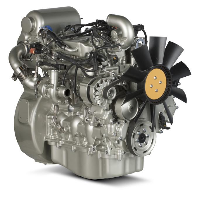 854F-E34TA Industrial Engine